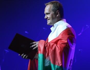 FOTO: Guntara Rača jubilejas koncerts Dzimis Liepājā kopā ar slavenībām