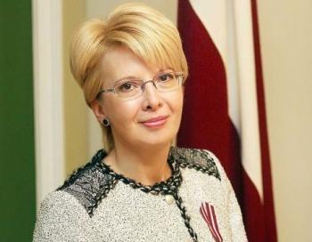 Saeimas priekšsēdētāja Ināra Mūrniece: būt par skolotāju – tā ir cēla misija