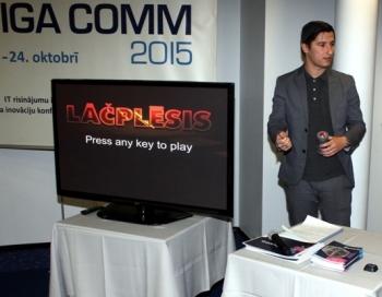 Latvieši izstrādā inovatīvu spēli Lāčplēsis jaunajam Apple TV