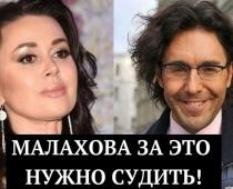 15 miljoni rubļu par smagi slimās aktrises Nastjas slimības stāvokli! Malahovs nosaukts par noziedznieku