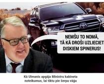 81 gada vecumā prezidents-miljonārs Guntis Ulmanis faktiski iespļāvis sejā visai latviešu tautai